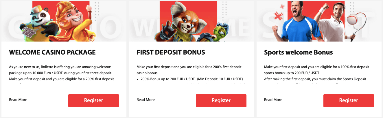 Rolletto nz Welcome Bonus