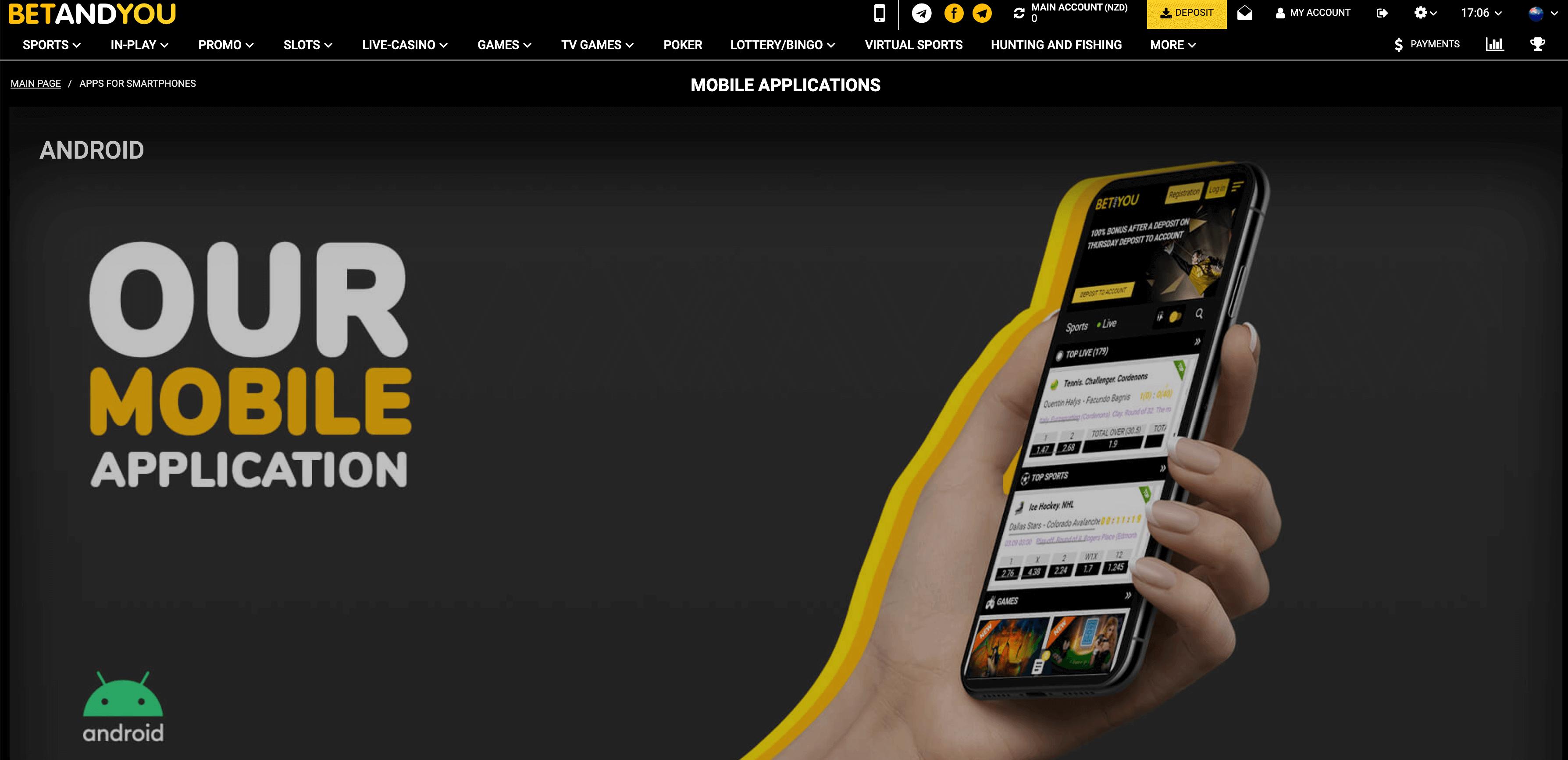 betandyou app mobile