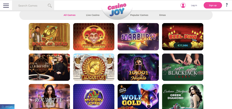 Casino Joy nz Slot