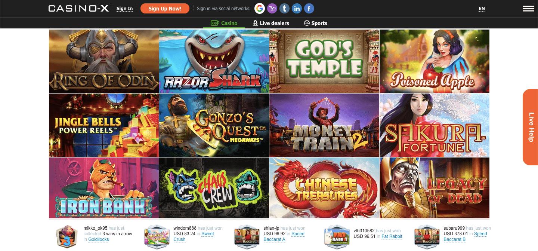 Casino X nz Slot
