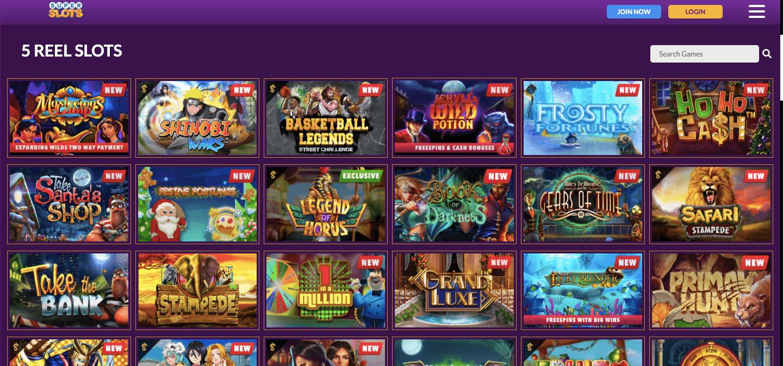 Super Slots Casino nz Slot