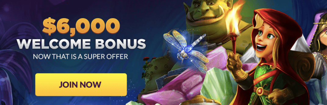 Super Slots Casino nz Welcome Bonus