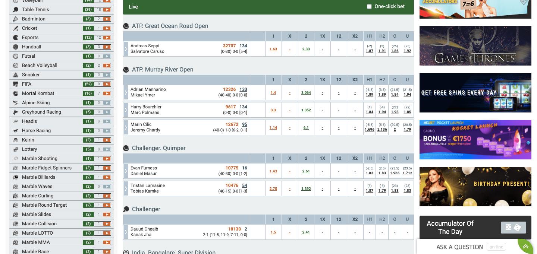MelBet NZ Betting